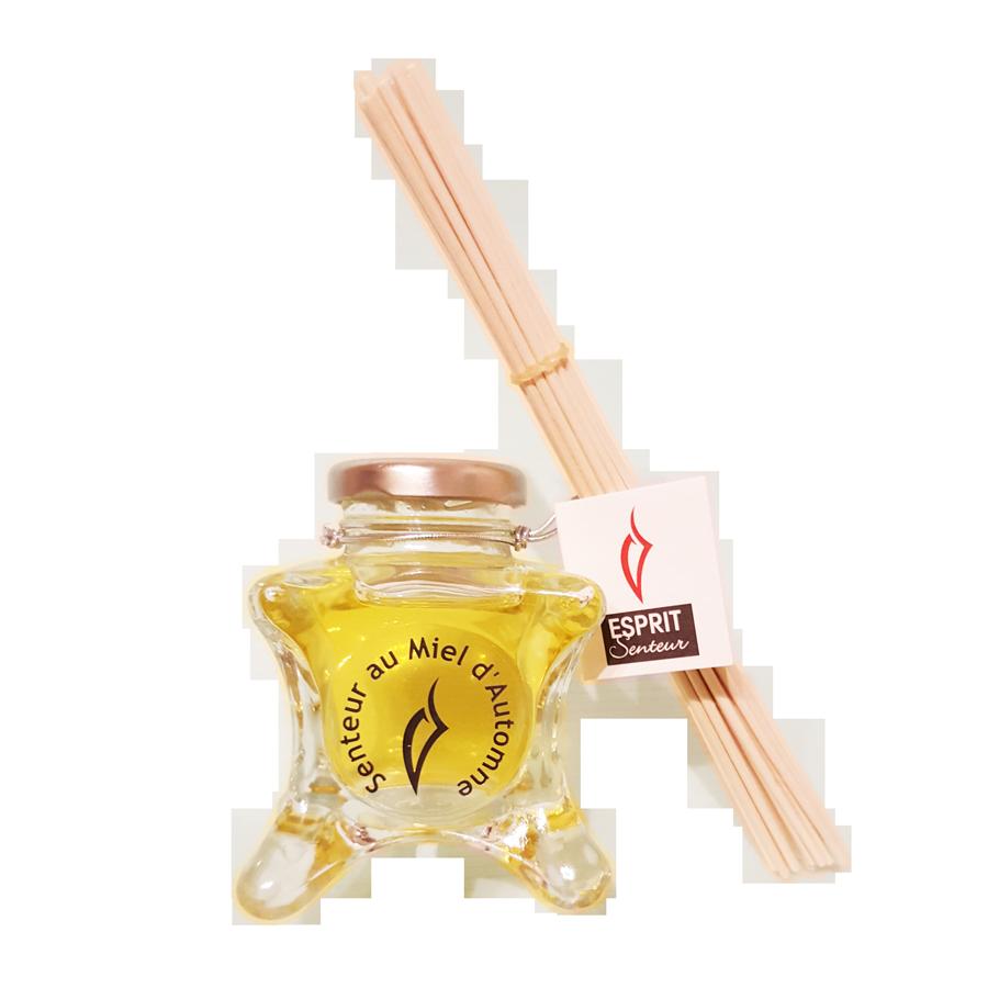 Mikado et Essence de parfum au miel d'Automne
