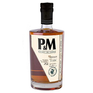 Bouteille de whisky PM Vintage - Distillerie Mavela