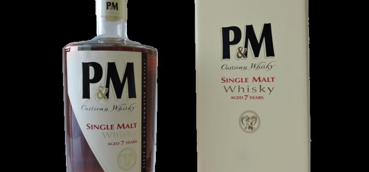 Whisky Corse P&M 7 ans d'âge
