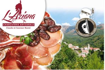 La charcuterie corse L'Aziana offre à Guidoni Corsica l'exclusivité pour toute la Belgique