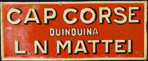 Cap Corse Mattei Publicité