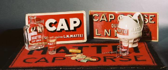 Cap Corse Mattei Vieux objets publicitaires