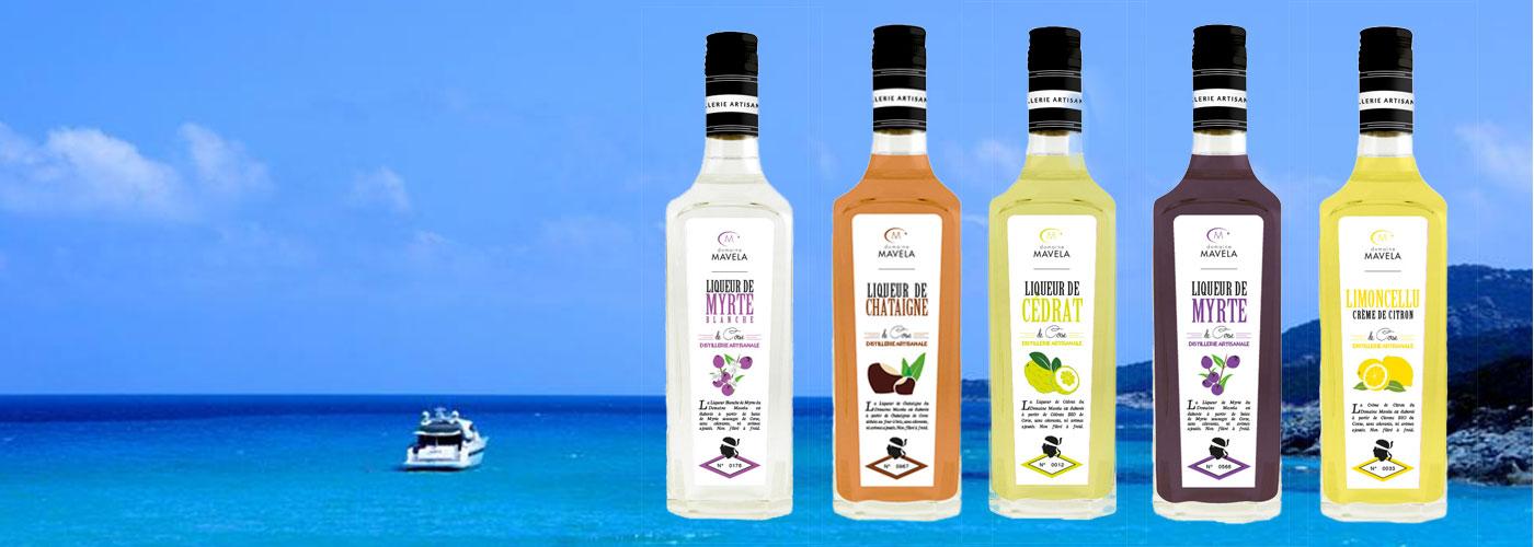 Liqueurs et eaux de vie de Corse