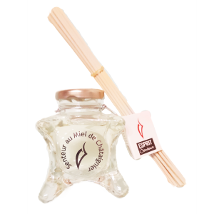 Mikado et Essence de parfum au miel de chataignier