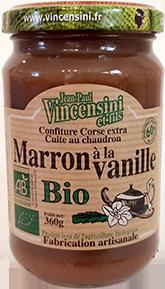 Confiture de marron à la vanille