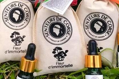 Une nouvelle gamme de produits et de senteurs à base d'Immortelle sur Guidoni Corsica
