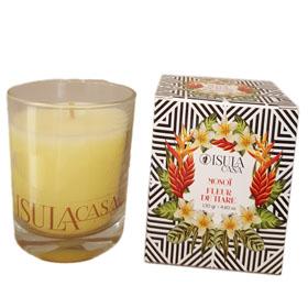 bougie d 39 ambiance mono fleur de tiar guidoni corsica. Black Bedroom Furniture Sets. Home Design Ideas