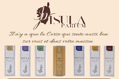 Insule parfum publicité